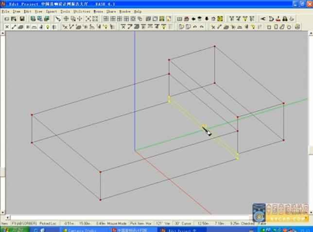 《EASE4.1音频教学》2模型编辑