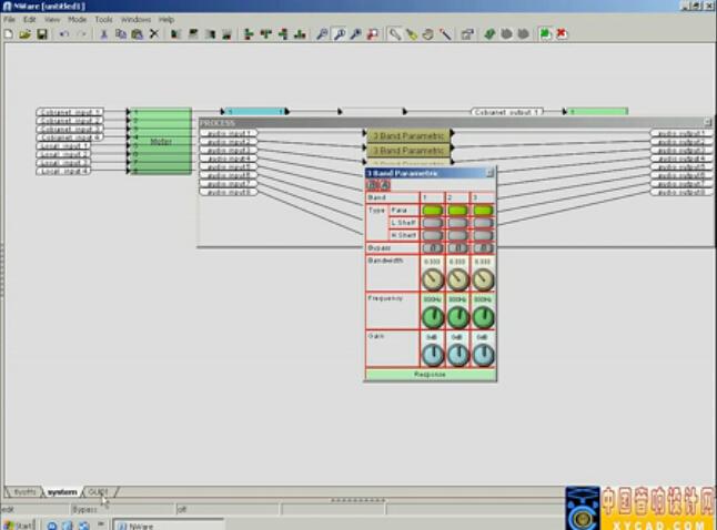点击观看《《全球音频处理器教程》10-NWare软件》