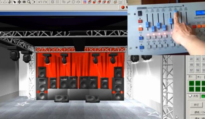 点击观看《《舞台灯光软件》7-LightingStudio控制菜单》